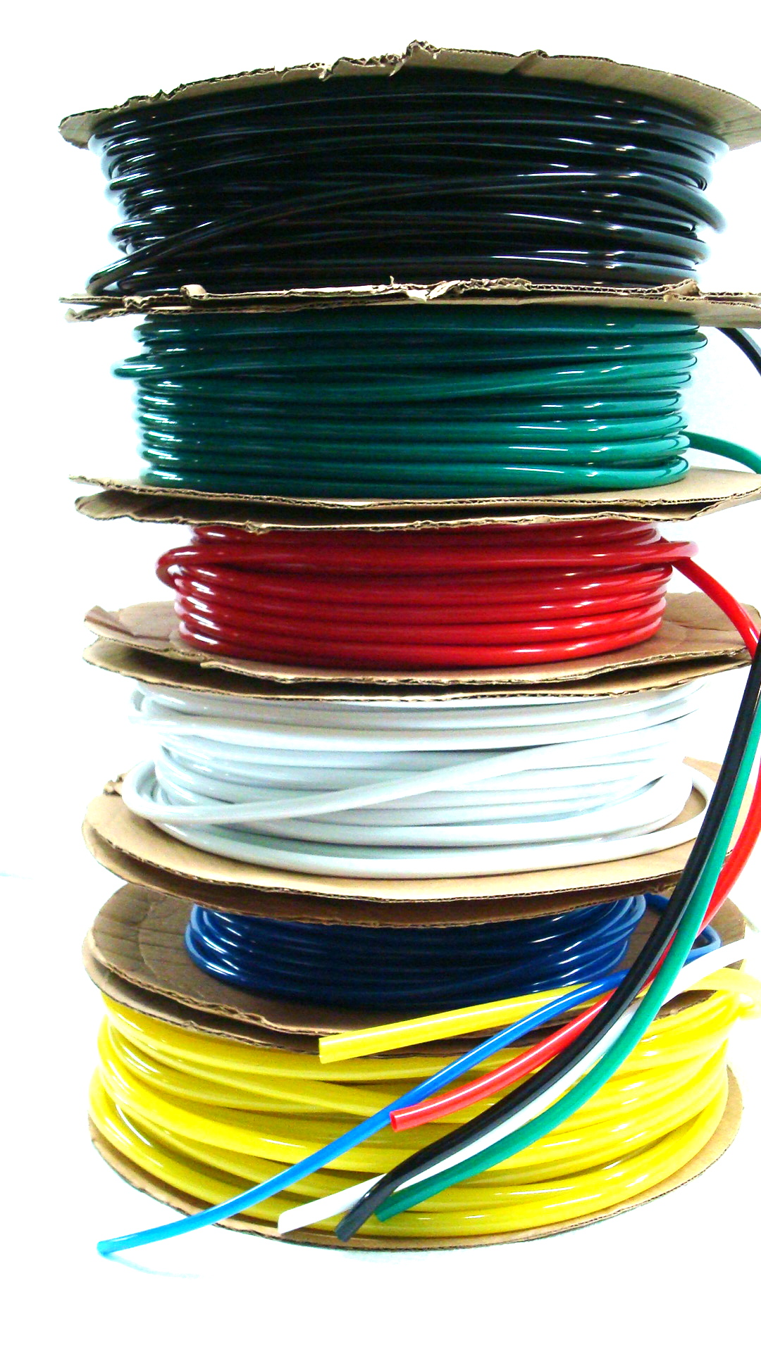 Colored Vinyl Tubing PVC Canal Rubber