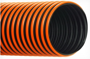Hi-Tech Duravent </br>RFH-W Thermoplastic Rubber Hose<BR>Dragging Hose