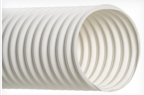 Hi-Tech Duravent</br> RFH-White Thermoplastic Rubber Hose