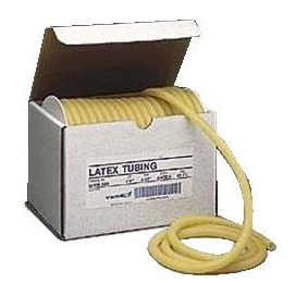 Amber nat. latex surgical tubing