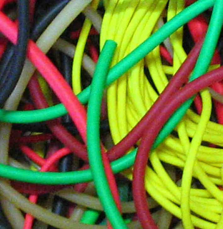 Natural Latex Fluorescent Tubing
