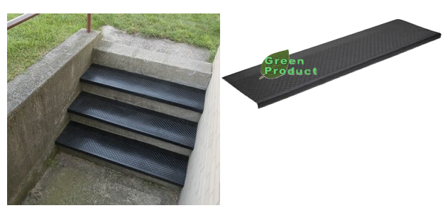 No 633 Outdoor Rubber Stair Tread Canal Rubber
