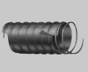 Hi-Tech Duravent Fabric Covered Flexible Ventilation Hose