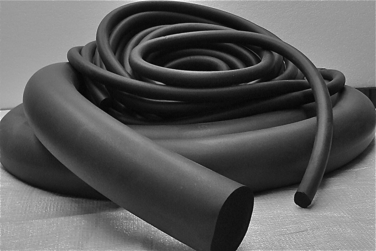 Full Round Closed Cell</br> Neoprene Sponge Cord
