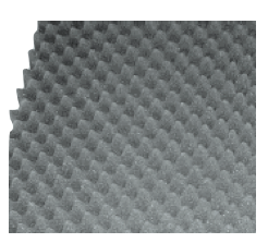 Convoluted Acoustical Foam