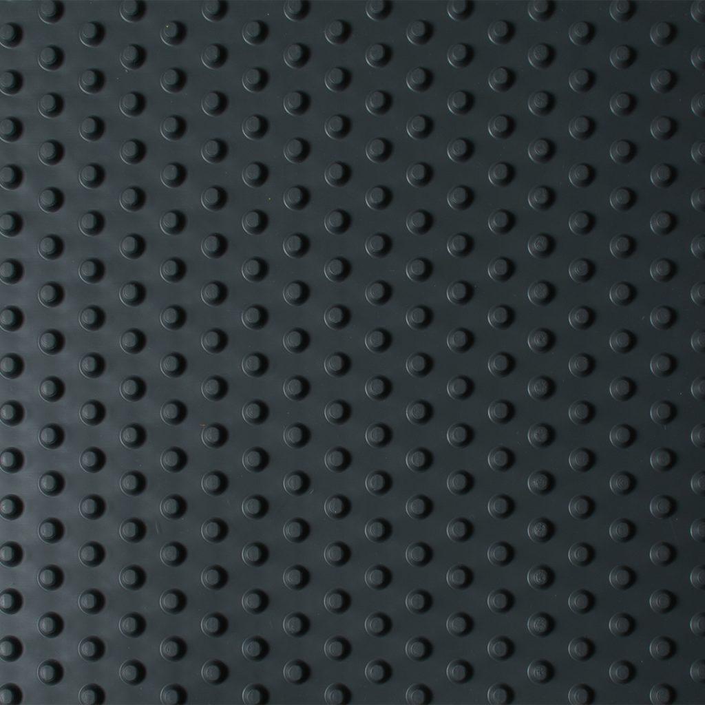 pebble matting black