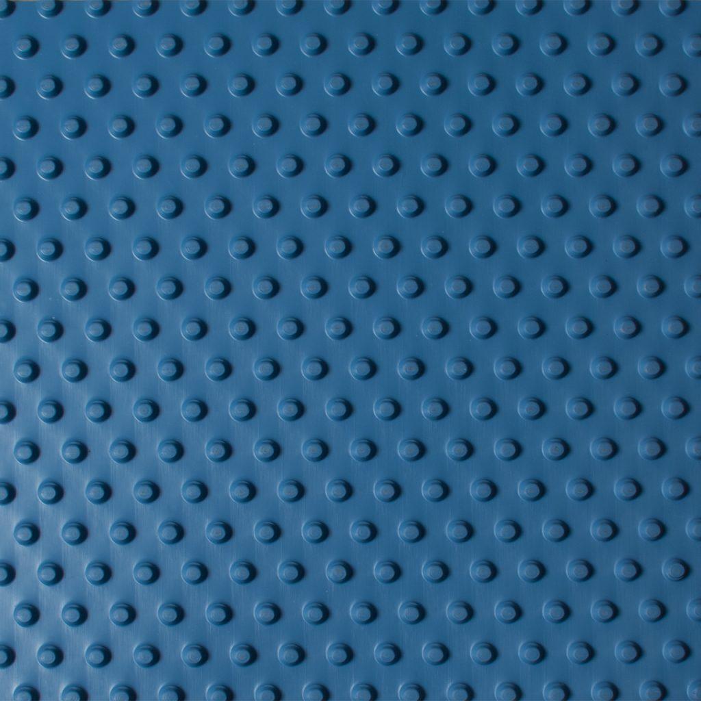 pebble matting blue