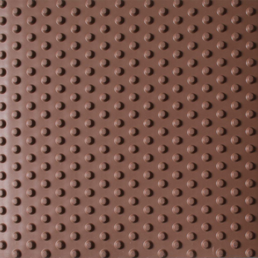 pebble matting brown
