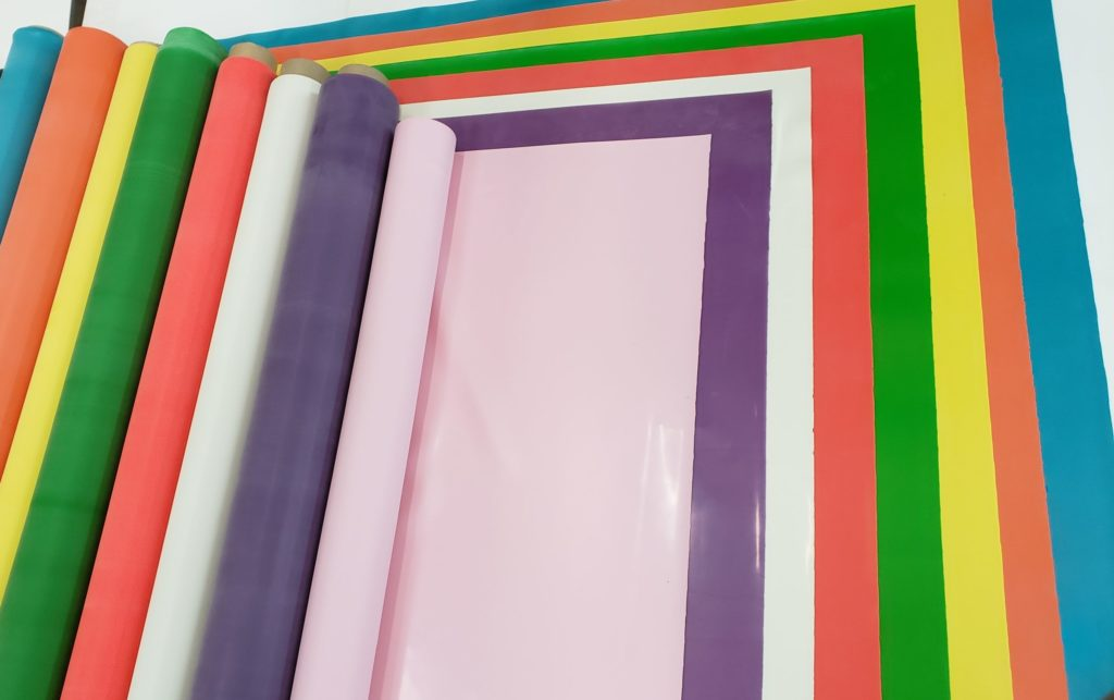 Colored Latex Sheeting