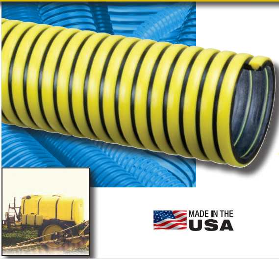 KURIYAMA TIGER YELLOW TY | EPDM SUCTION HOSE