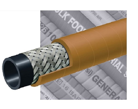 Kuriyama T140AK Hose | Braided Steel Wire Air Hose